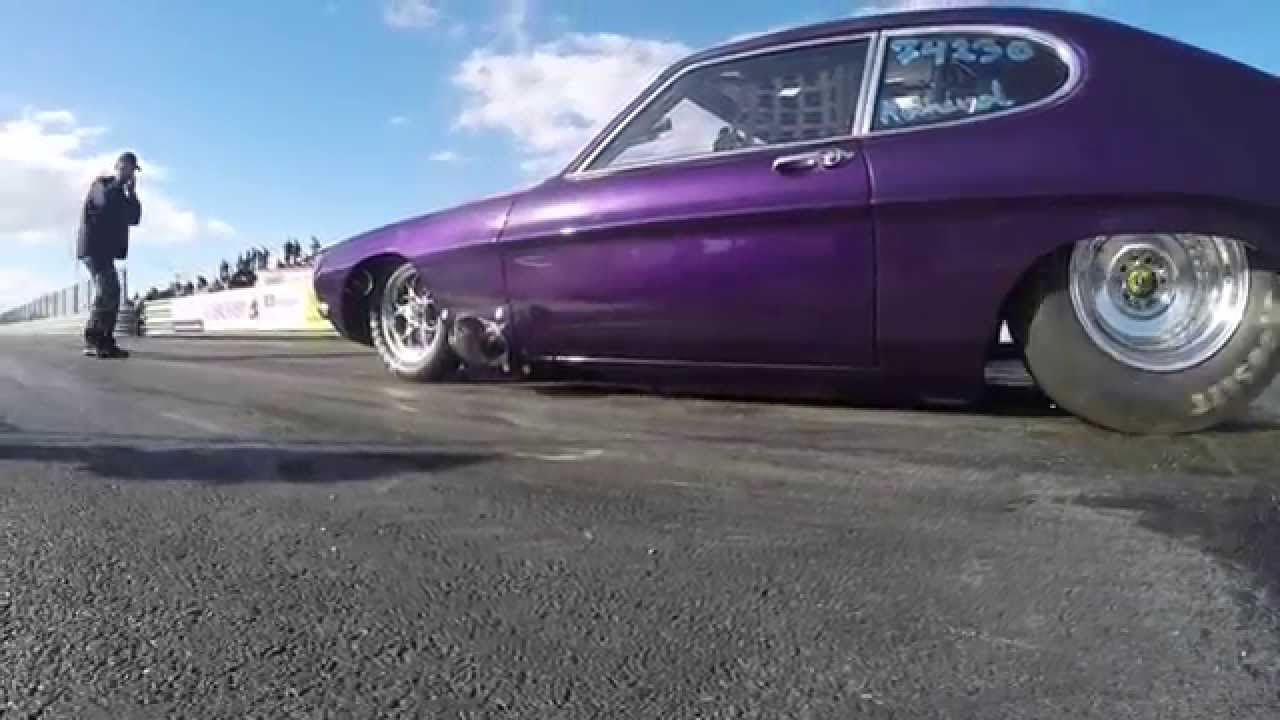 Ford Capri Drag Car V8 Big Block Twin Turbo Pro Street - First Test Runs & Ford Capri Drag Car V8 Big Block Twin Turbo Pro Street - First ... markmcfarlin.com