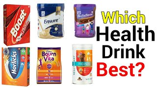 Top 10 Health Drinks in Indian Market Ranked From Worst to Best