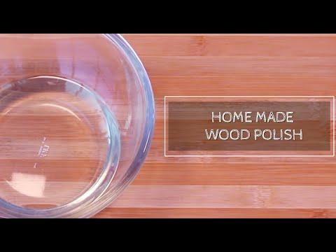 Daily DIY Home- Home Made Wood Polish