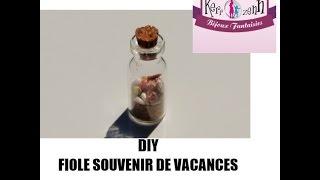 DIY BIJOUX FIOLE SOUVENIRS DE PLAGE