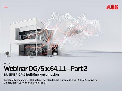 2017-05 Webinar about ABB Building Automation – New Generation DALI Gateways DG/S x.64.1.1 - Part 2