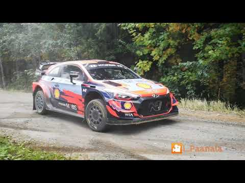 Thierry Neuville & Martijn Wydaeghe pre-event test Rally Finland 20.9.2021