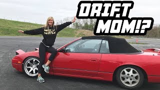 homepage tile video photo for My MOM enters a DRIFT EVENT..!