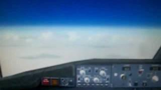Boeing 737 - Flying 34000 pes - Cockpit