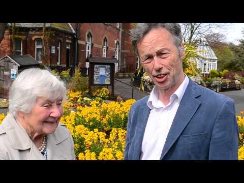 John Pugh And Dame Shirley Williams Visit Botanic Gardens