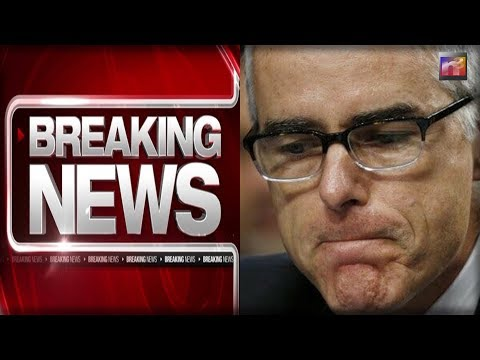 BREAKING: FBI Official Andrew McCabe ON HIS KNEES Begging Not To Be Fired In Last Minute Plea