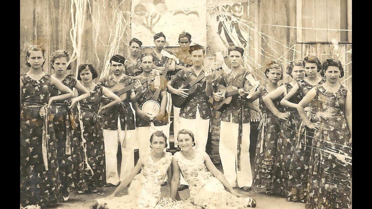 Música de bloco carnavalesco itajaiense em 1941
