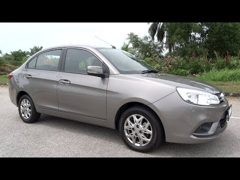 2017 Proton Saga 1.3 Executive Start-Up and Full Vehicle Tour