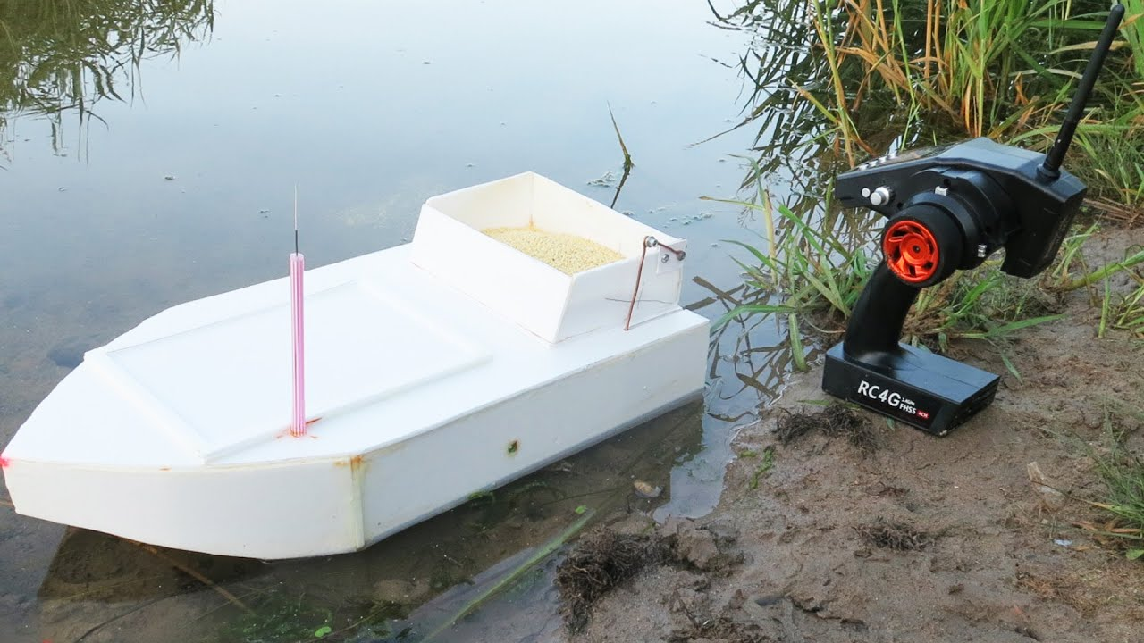 Прикормочный кораблик своими руками - Самоделки для рыбалки