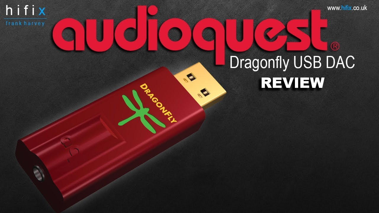AudioQuest DragonFly Red USB DAC Review