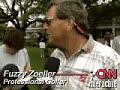 Fuzzy Zoeller to Tiger Woods - fried chicken/collard greens