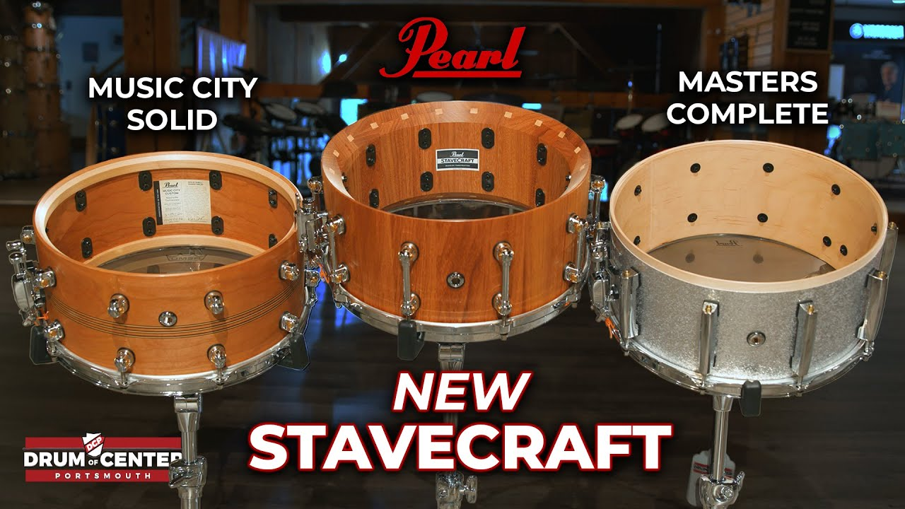 Download NEW Pearl Stavecraft Snare Drum Review and Comparison!