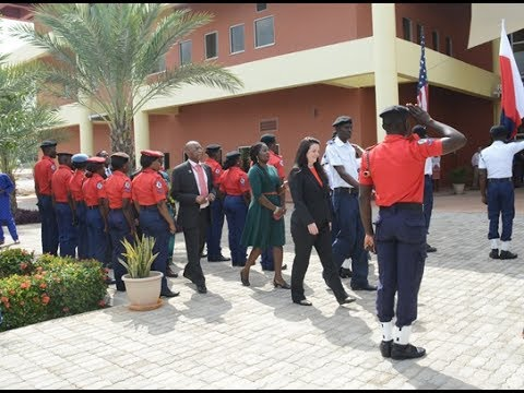 President Dekle's First Day At The American University of Nigeria