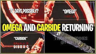 "*NEW* Fortnite: LEAKED ROCKET HAS ""OMEGA AND CARBIDE"" ON HOLOGRAM! 