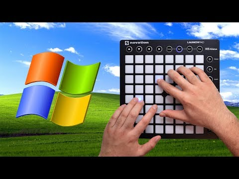 Making Music With Windows XP Sounds