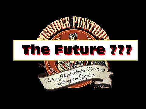 Cambridge Pinstriping, The Future is in Your Hands!