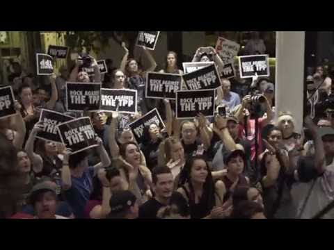 Rock Against the TPP: Artists & celebrities fight the Trans-Pacific Partnership