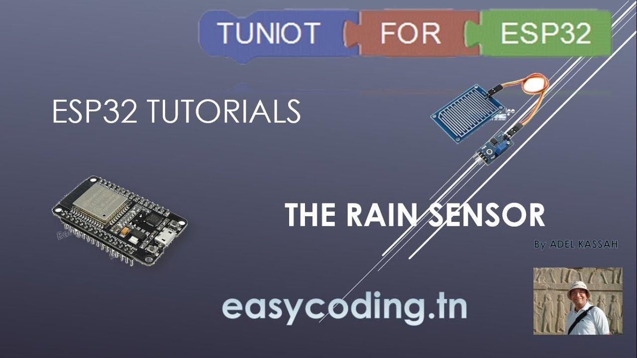 ESP32 tutorial: The rain sensor
