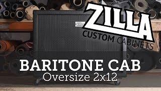 Zilla Baritone Guitar Cab. Celestion BN12-300S loaded
