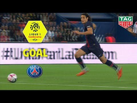 Goal Edinson CAVANI (5') / Paris Saint-Germain - Stade de Reims (4-1) (PARIS-REIMS) / 2018-19