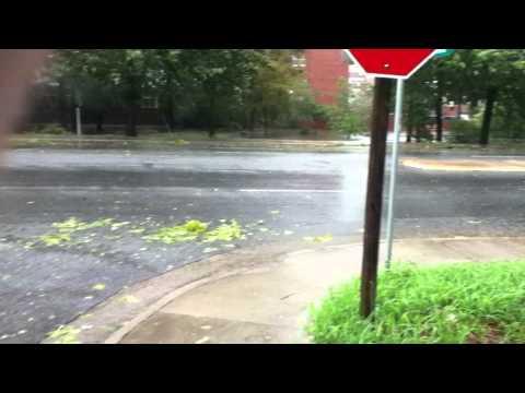 ECU Hurricane Irene, Tenth street