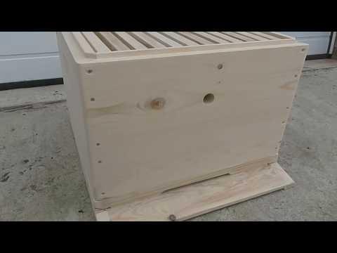 Ульи для пчел своими руками чертежи на 14 рамок