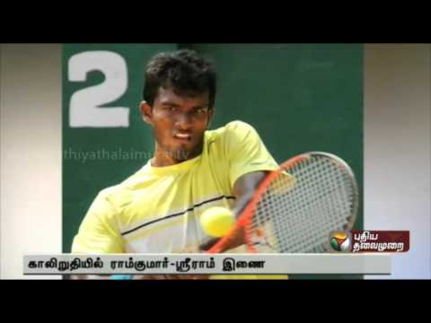 Chennai open: Ramkumar-Balaji team enters quarter-finals