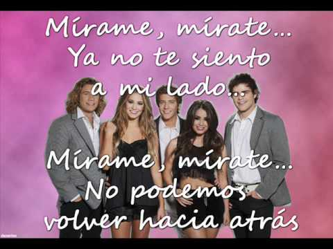 Mirame , Mirate - Teen Angels 2011 ( LETRA / LYRICS )