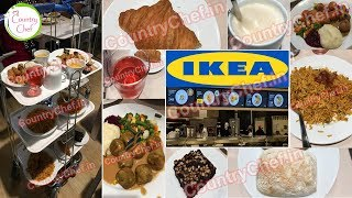 Ikea Restaurant's Swedesi food