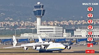 Antonov An-225 in Athens 13 & 14/5/2020: Main video – Special Edition (ATC comms - all cams)