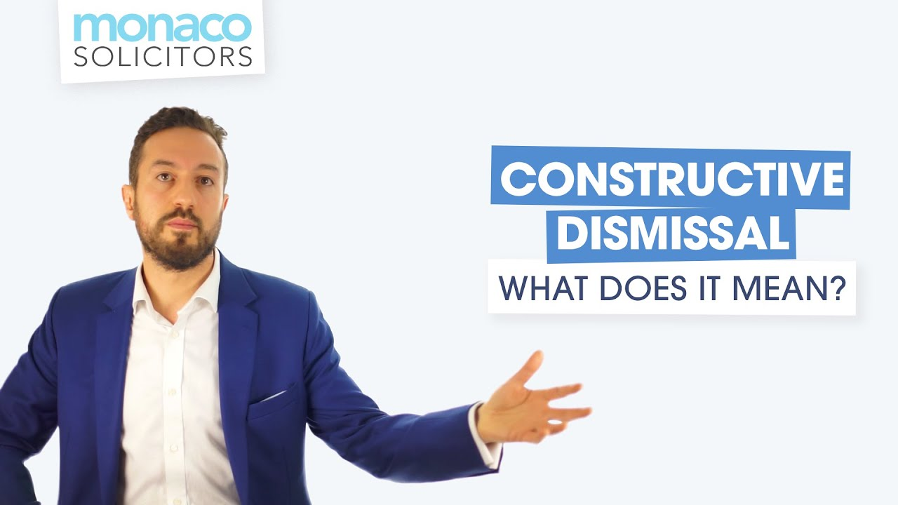 Download Constructive Dismissal - What Does It Mean?
