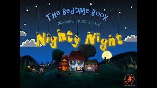İyi Geceler Çocuklar için w/ Çiftlik Hayvanları Karikatür! Yatak Zaman Hikaye w/ inekler, domuzlar, köpekler ve daha fazlası
