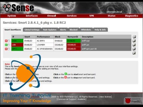 pfSense Part 11: Configuring Snort in pfSense