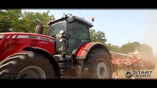 Beautiful Girl & Massey Ferguson 8732 + Jean De Bru