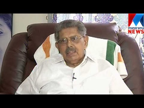 Vayalar Ravi still likes to become Chief Minister | Manorama News
