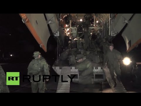 Russia: Black Sea Fleet marine unit return to Sevastopol after Syria deployment