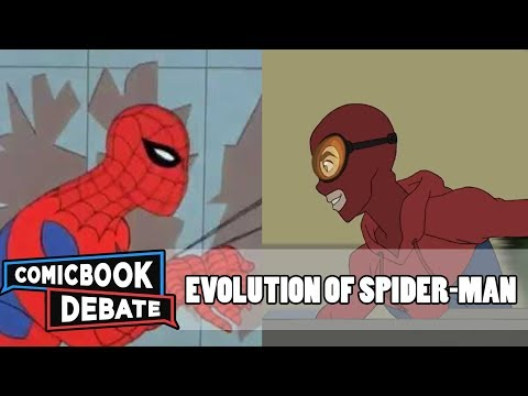 Evolution of SpiderMan in Cartoons in 11 Minutes 2017
