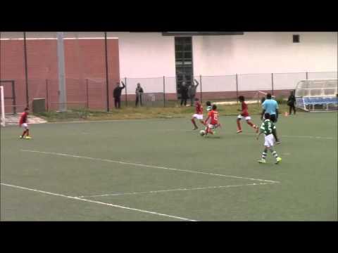 Sporting 2-2 Sacavenense, Fut7, AF Lisboa, Infantis-B, 2015-16