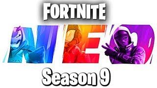 "Fortnite: Battle Royale ""Season 9"" Gameplay Update - Fortnite ""Season 9: Battle Pass"" Live"