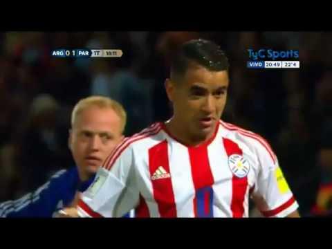 Argentina 0-1 Paraguay relato de Bruno Pont de Radio Cardinal