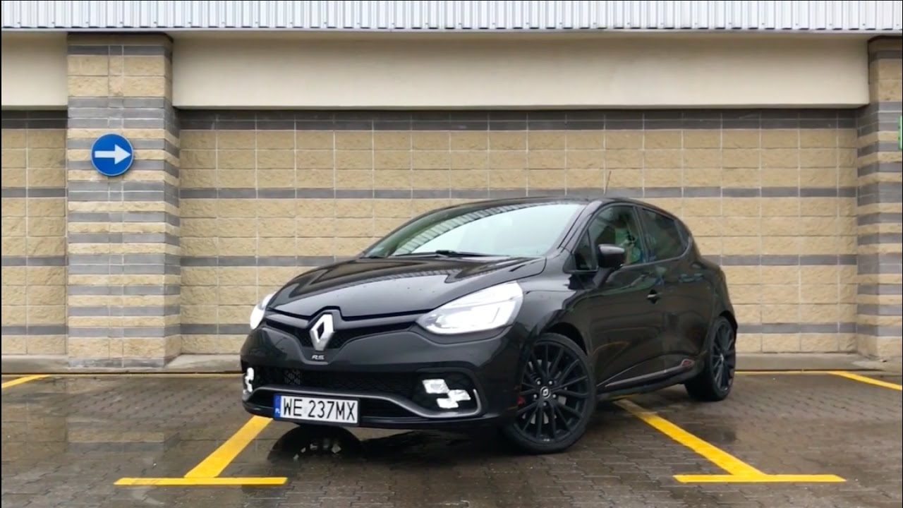 2016 renault clio r s trophy 220 edc engine r4 1 6 turbo 220 hp youtube. Black Bedroom Furniture Sets. Home Design Ideas