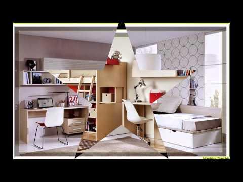 Dormitorios infantiles compartidos habitaciones para for Muebles de cuartos infantiles