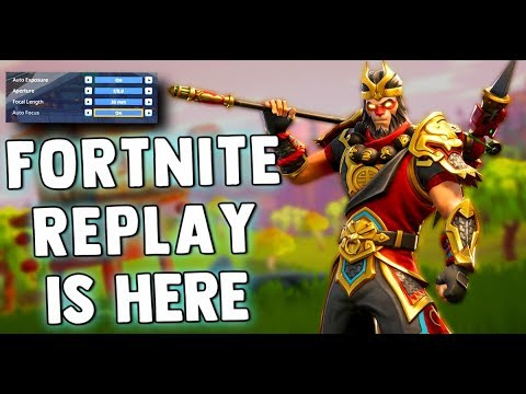 FORTNITE UPDATE 3.5 - Replay System - Weapon Nerfs - Bug Fixes & MORE!! Fortnite Battle Royale News