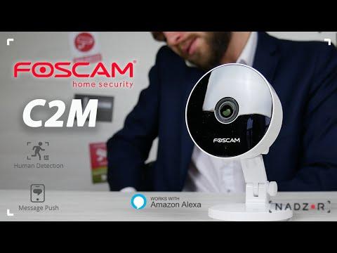 Foscam C2M - бюджетная FullHD двухдиапазонная Wi-Fi IP Камера с детекцией людей - nadzor.ua