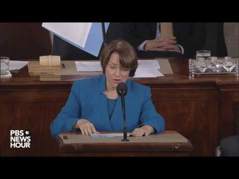 Watch a joint session of Congress confirm electoral college results