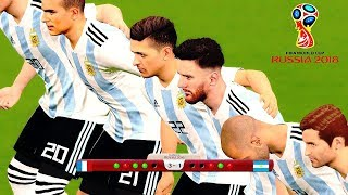 FIFA World Cup Russia 2018 Final - Argentina vs France (Penalty Shootout)