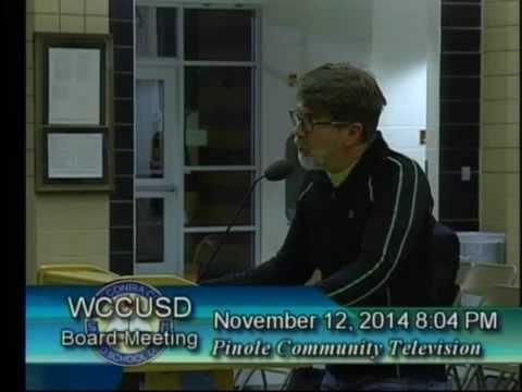 WCCUSD BOE 11/12/2014: Attorney Fees for SEC Investigation