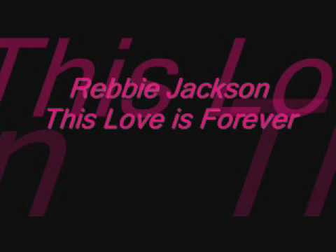 Rebbie Jackson - This Love is Forever