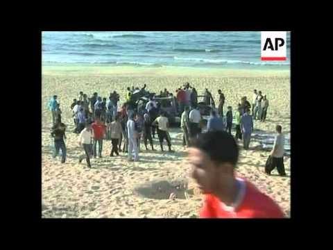 Israeli attack in central Gaza kills top militant, scene, hospital