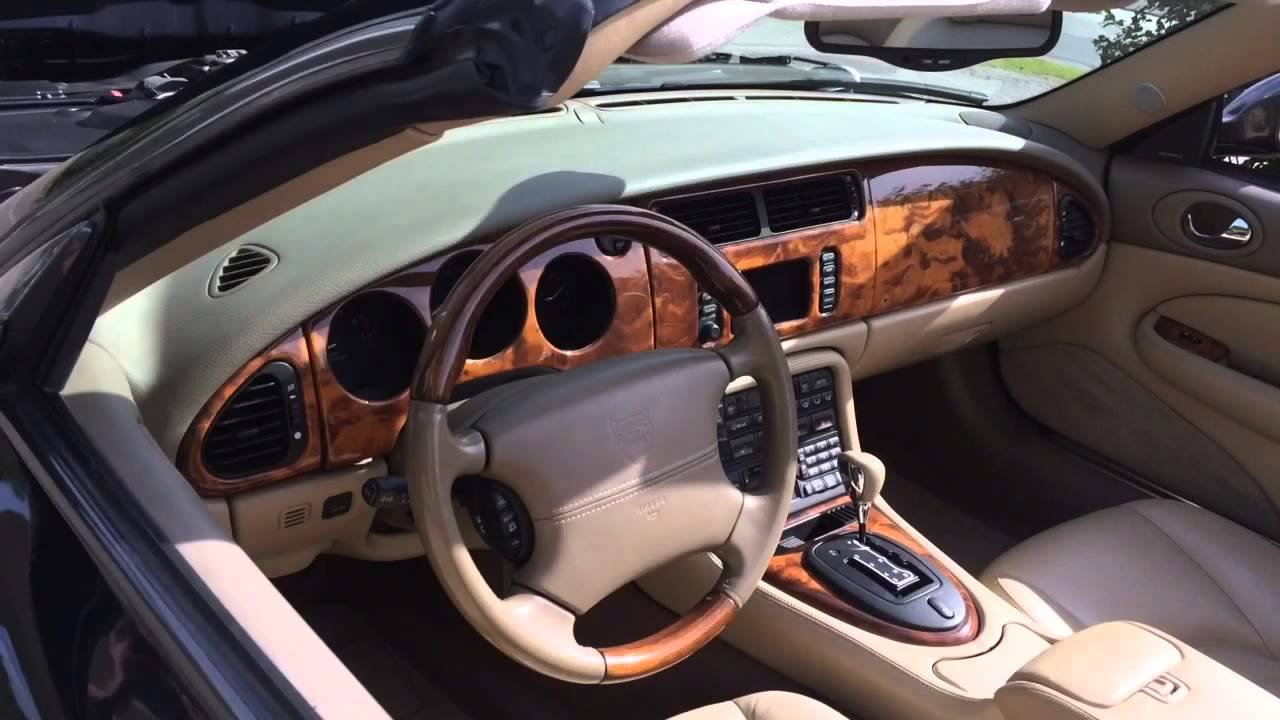 jaguar xkr 4 2 supercharged convertible 2003 youtube. Black Bedroom Furniture Sets. Home Design Ideas